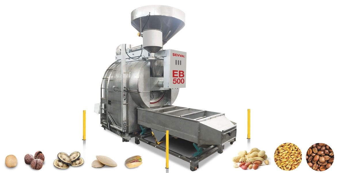 EB500 - COFFEE ROASTING MACHINE