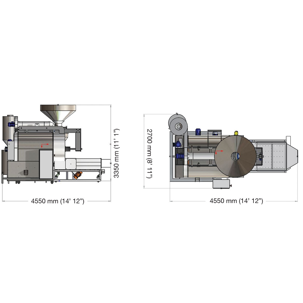EB500 - COFFEE ROASTING MACHINE_Project