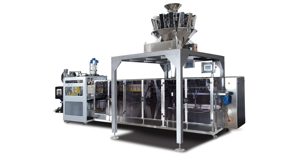 PACKPLUS D01 - FILLING PACKING MACHINE