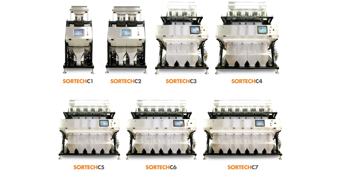 SORTECH-SERIE COLOR SORTER MACHINES