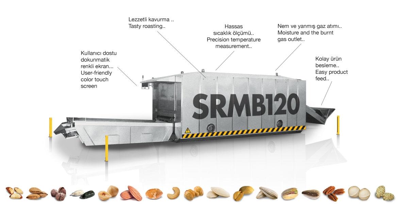 SRMB120- - فرن تحميص