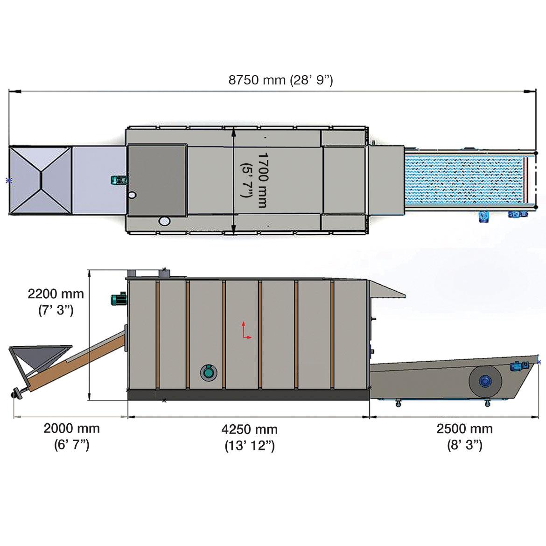 SRX60 - Torréfaction machine_Projet