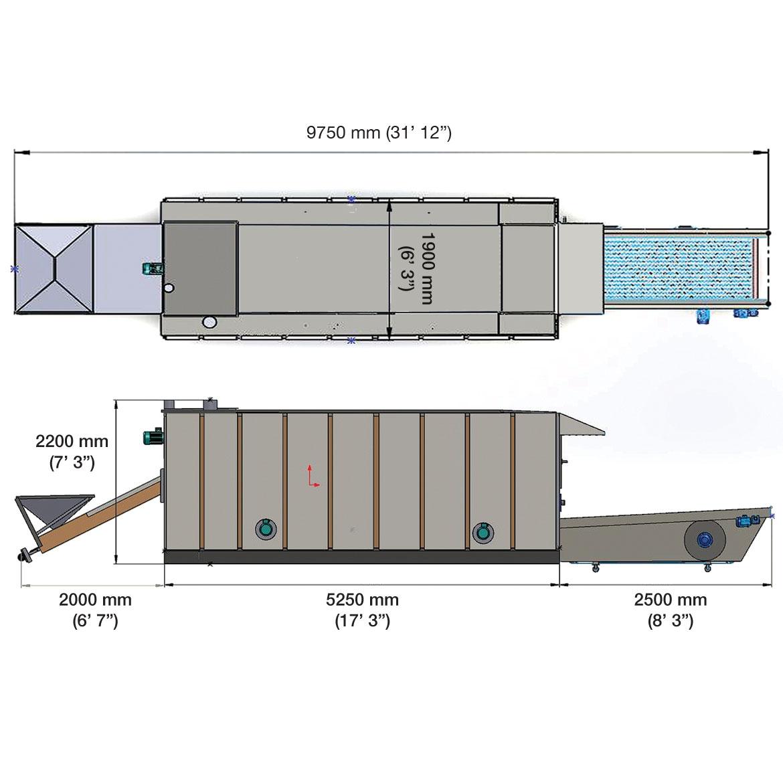 SRX90 - HORNOS DE ASAR_Proyecto