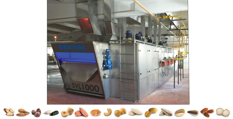 SVL1000- آلات تحميص المكسرات