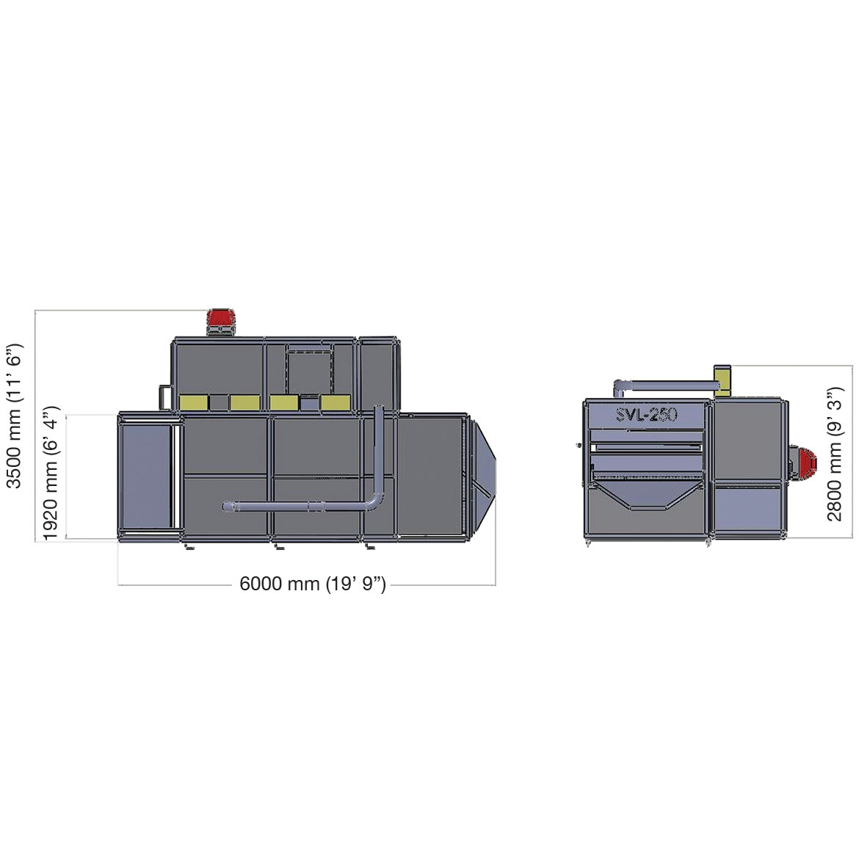 SVL250- - فرن تحميص_المشروع