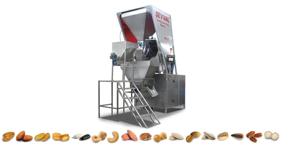 SVLT01- AUTOMATIC SALTING AND SEASONING MACHINES