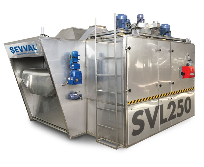 SVLT01- AUTOMATIC SALTING AND SEASONING MACHINES Drying?