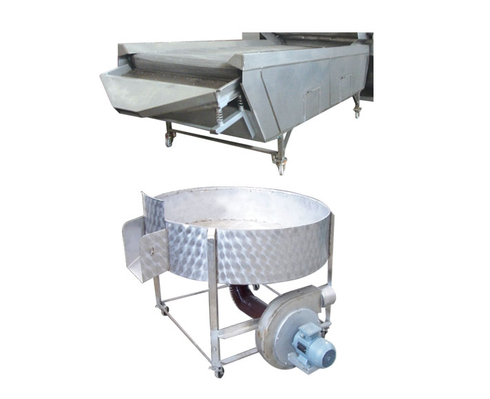 SVLT01- AUTOMATIC SALTING AND SEASONING MACHINES Cooling?