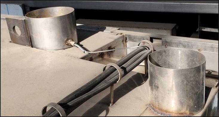 SRX60 - ROASTING OVENS Chimney and vapor exit...