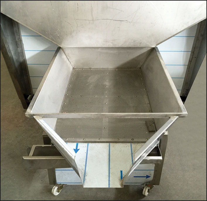 SVL500 - ROASTING OVENS Product discharge system...