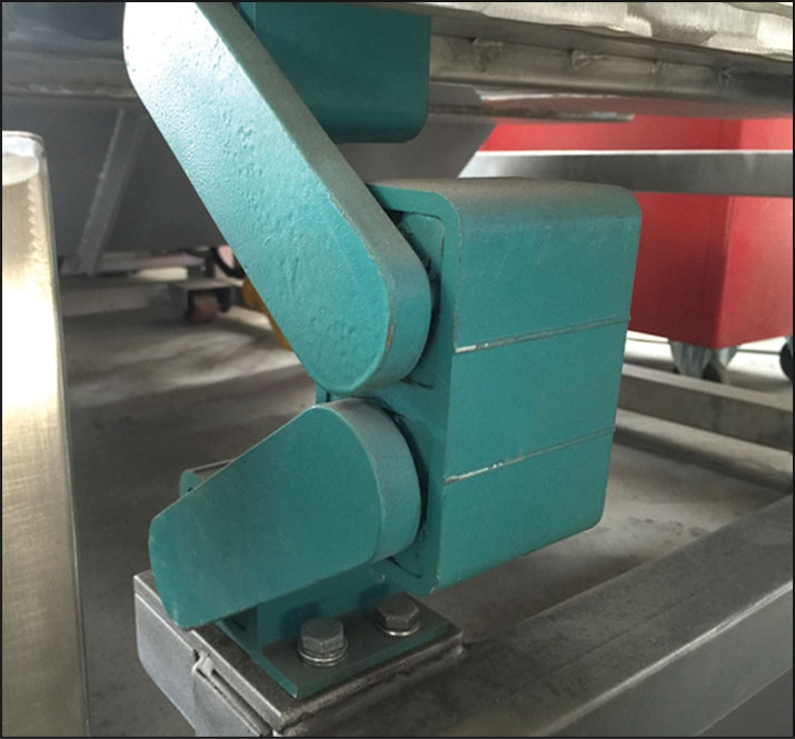 EB500 - BATCH ROASTING OVENS Twister arm...