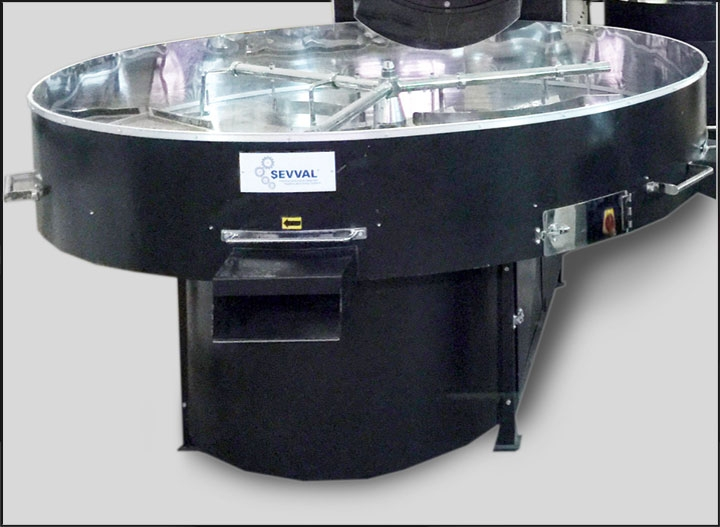 EB500 - COFFEE ROASTING MACHINE Cooling...